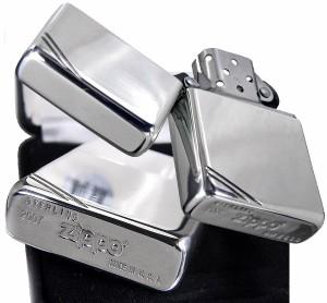 【送料無料】【ZIPPO】 純銀フラットトップジッポー14番