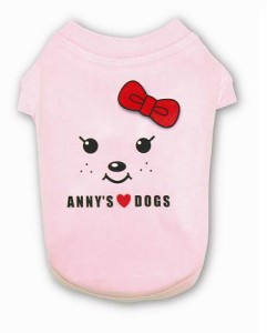 Anny's りぼんTシャツ(ピンク)
