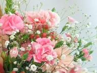 只今ポイント5倍!5月の誕生花★プリティーアレンジ5,000円【送料無料】ネット特価!