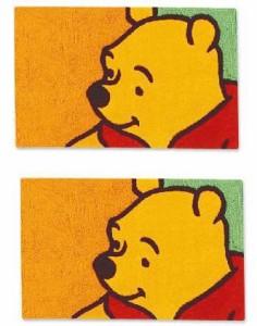 SALE★ディズニー☆フックマット・50x80cm【チャオプーLB4016-20】お部屋のアクセントにぴったり!!