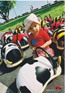 送料無料かわいい木製乗り物おもちゃ パパジーノ ウィリーバグS みつバチ■プレゼントに☆木製乗用玩具 WEB003