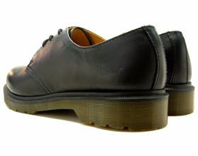 送料無料 Dr.Martens 1461 PW 3EYE GIBSON BLACK SMOOTH ドクターマーチン 3ホール ブラック ブーツ レザー