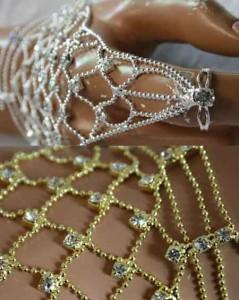 【ブレス☆リング】王妃の気品♪ジルコニアピラミッド☆