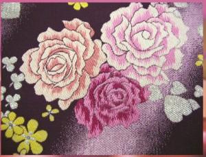 セミオーダー正絹振袖ぜ〜んぶ揃った豪華フルセット★ピンク地色紙桜