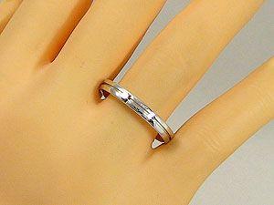 ペアリング 結婚指輪 マリッジリング ホワイトゴールドK18 フルエタニティライン 2本セット K18WG