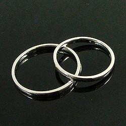 結婚指輪 プラチナ ペアリング マリッジリング プラチナ900  2本セット シンプルリング Pt900 送料無料