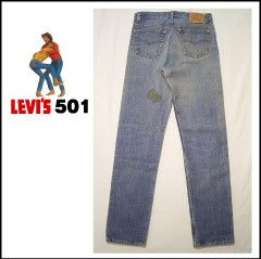 USED Levis 501 レギュラー W34L35 MADE IN USA [リーバイス 00501]