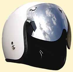 マッハGoGoGo!!な雰囲気☆ミラーマッハシールド/DAMMTRAX(ダムトラックス)バイクヘルメット用