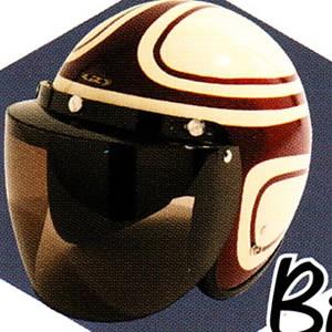 UVカット加工+開閉式☆バイカーズシールド TNK/バイク ジェットヘルメット用シールド
