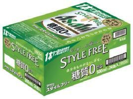 アサヒ スタイルフリー 500ml 24缶入り