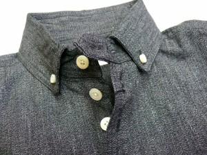 few フュー ボタンダウンシャツ クラシックフィット サックス 送料無料