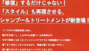 【ハリコシ+サラサラ】ナノアミノ シャンプーDR 2500ml (詰替用)