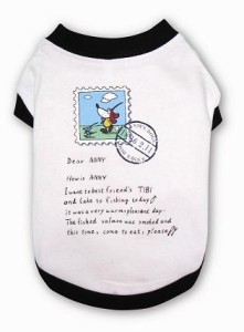 Anny's レターTシャツ(アイボリー)