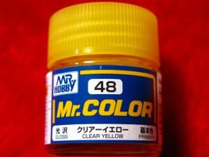 【遠州屋】 Mr.カラー(48) クリアーイエロー 基本色 光沢 (市)♪