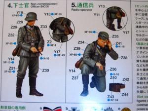 ■遠州屋■ タミヤ(MM-298) ドイツ野戦指揮官セット ナチス・ドイツ軍 1:35 スケール ♪