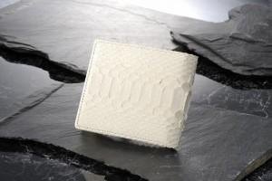 白蛇 二つ折り財布■61235