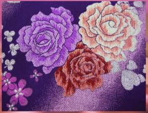 セミオーダー正絹振袖ぜ〜んぶ揃った豪華フルセット★ピンク地紫黄ぼかし桜