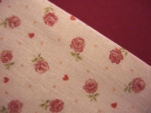 浴衣に♪小粋な半巾帯★薄ピンク地ミニ薔薇レース