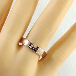 結婚指輪 ゴールド ペアリング ピンクゴールドK10 マリッジリング 平打ち K10金 ブライダル 2本セット