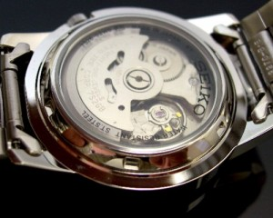 SEIKO/セイコー 自動巻 メンズ腕時計【SEIKO5/セイコー5】メタルベルト ネイビー文字盤 JAPAN MADE セイコーファイブ SNKE51J1