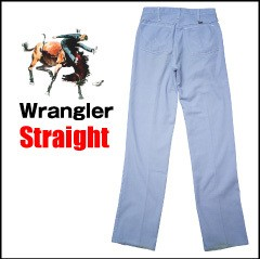 VINTAGE Wrangler ヴィンテージ ラングラー ストレートスラックス W31L34 タロンジッパー