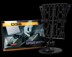 Dunlop ダンロップ 譜面台 Sheet Music Holder D36