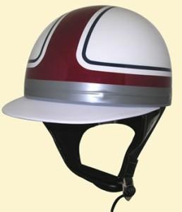 SPEED PIT (スピードピット) 峠 コルク 内装 ☆ ツバ付き ラメ 半キャップ TNK TR-40C /バイク用 ハーフヘルメット