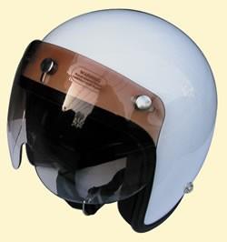 マッハGoGoGo!!な雰囲気☆グラデーションマッハシールド/DAMMTRAX(ダムトラックス)バイクヘルメット用