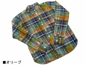 neame ニーム Flower B.D. Shirt フラワーボタンダウンシャツ オリーブ 送料無料
