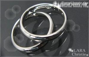 ペアリング 人気ブランド LARA Christie 送料無料 シルバー エターナルビューティ r3872-p /13,176円