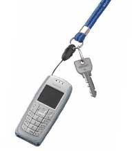コクヨ×ファイテン携帯電話用ネックストラップ・ネームホルダー/シングル/ナフ-FL1D・ナフ-FL1B