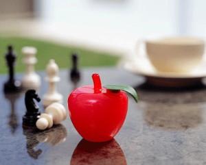 TV発掘あるある大辞典で紹介! 元気のでるリンゴ「トルマリンゴ」あなたの波動を高めます!(4色セット)