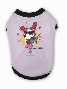 Anny's ロックTシャツ(グレー)