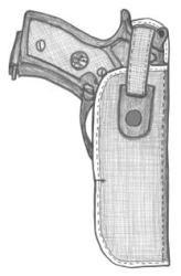 イーストA エアガン ハイパーホルスター サムブレイクヒップ No.361