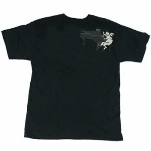和柄むかしむかしTシャツ デストロイ