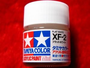 ■遠州屋■ タミヤカラー(XF-2) フラットホワイト アクリル塗料ミニ タミヤ模型 (市)♪