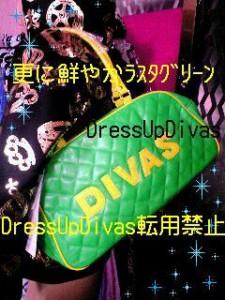 Divas☆新作スポーティーロゴキルティングバック【BAG9B27】