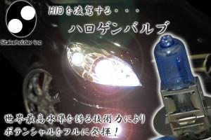 980円均一★在庫処分SALE【H3】ハロゲンバルブ4500K/プレミアホワイト明るさ135Wクラス(55W)