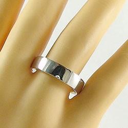 結婚指輪 ペアリング マリッジリング イエローゴールドK10 ホワイトゴールドK10 平打ち 指輪 2本セット 送料無料