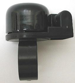 ☆小さくて、とてもおしゃれなベル「チビベル」3色(メッキ、ブラック、レッド)