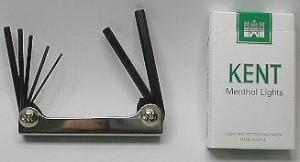 ☆6角棒レンチセットT−7(7本組・折りたたみ式・携帯に便利)