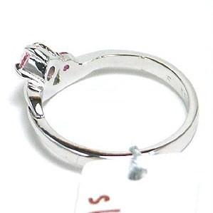 【送料無料】スワロフスキークリスタル使用☆シルバー925 ピンキー リング指輪 SR-4164