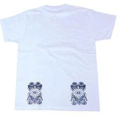 和柄むかしむかしTシャツ 菊紋