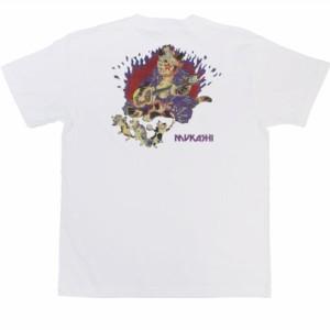 和柄むかしむかしTシャツ ムカッシ