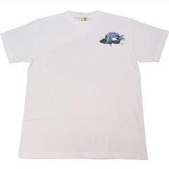 和柄むかしむかしTシャツ 雷神VS龍神