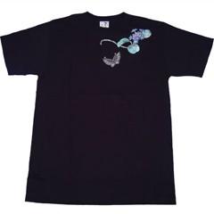 和柄むかしむかしTシャツ オタクサ