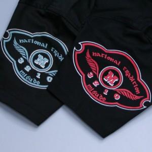 """【3】和柄ワークシャツ""""SHOCHIKUBAI""""  【送料無料/若き着物職人が創作する手染和柄/新撰組でお馴染みの壬生からお届け】"""