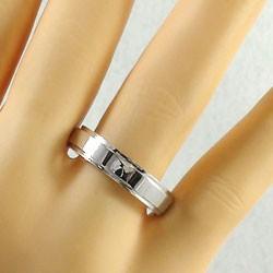 ペアリング 結婚指輪 マリッジリング ピンクゴールドK10 ホワイトゴールドK10 2本セット 送料無料