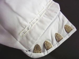 メンズ男物男性ブロード白足袋4枚こはぜ(25.0〜28.0) 成人式&結婚式に