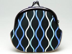 【和柄がま口財布】和柄がま口財布大。大きいサイズが便利です。(色K028)